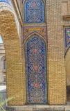 Golestan Palace tiles detail Stock Photo