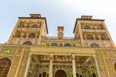 Golestan Palace Towers Edifice of the Sun Stock Images