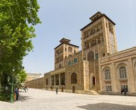 Golestan Palace Two Towers Stock Photos