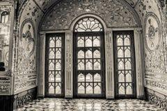 Golestan Palace windows Stock Images