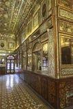 Golestan slott i Teheran, Iran Arkivbilder