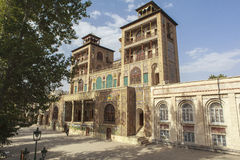 Golestan slott i Teheran, Iran Fotografering för Bildbyråer