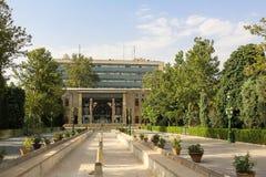 Golestan slott i Teheran, Iran Arkivfoto