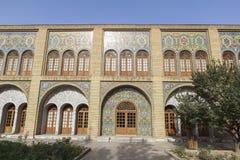 Golestan slott i Teheran, Iran Arkivfoton