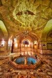 Golestan slott i Teheran, Iran som tas i Januari 2019 som tas i hdr royaltyfri bild