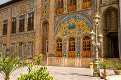 Golestanpaleis - Teheran Royalty-vrije Stock Foto's