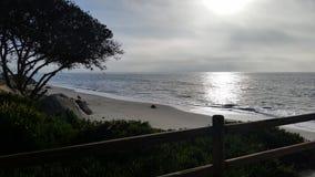 Goleta海滩 免版税库存图片