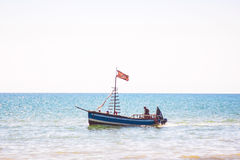 Goleta alegre de la piratería Imagen de archivo