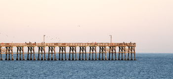 Goleta Pier Royalty Free Stock Photo