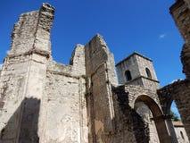 Goleto - Überreste der Kirche von San Salvatore Stockfotografie