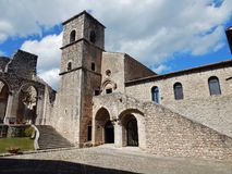 Goleto - Abbey Church Royalty Free Stock Photography