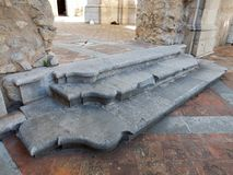 Goleto - Abbey Steps Fotos de archivo