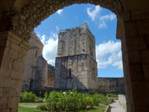 Goleto - abbey tower Royalty Free Stock Images