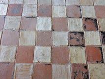 Goleto - Boden der Kirche von San Luca Stockfotografie