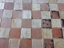 Goleto - Floor of the Church of San Luca Stock Photography