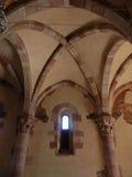 Goleto - Innenraum der Kapelle von San Luca Lizenzfreies Stockbild
