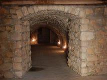 Goleto - Zugang zum Kindertagesstätten-Kirchhof Lizenzfreies Stockfoto