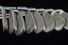 Golfów żelaza Fotografia Stock