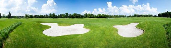 Golfów pola Zdjęcie Royalty Free