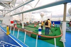 Golf a área ?na legenda dos mares? Fotos de Stock Royalty Free