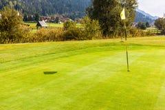 Golf in Österreich stockfoto