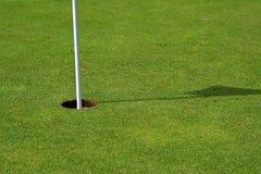 golf сторона отверстия левая Стоковое фото RF