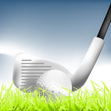 Golf 01. Golf Sport , illustration images for activities Royalty Free Stock Image