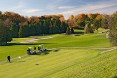 golf 01 widok Zdjęcie Royalty Free