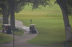 1 golf Royaltyfri Bild