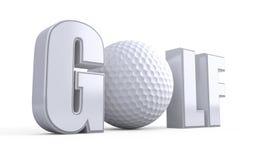 Golf lizenzfreie abbildung
