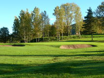 Golf. Bogstad golf course in Oslo Stock Photo