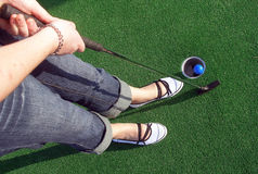 Golf 2 di avventura Immagine Stock