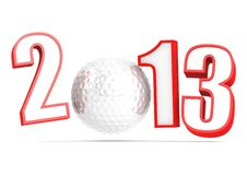 Golf 2013 Royalty Free Stock Photography