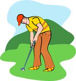 Golf royalty free illustration