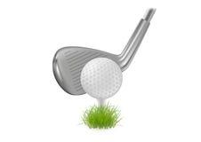 Golf illustration libre de droits