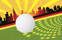 Golf Vektor Illustrationer