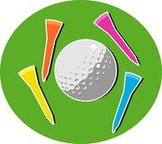 Golf illustrazione di stock
