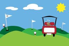 Golf stock abbildung
