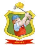 Golf Arkivfoton