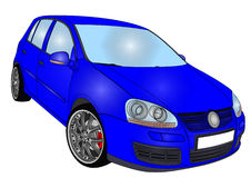 Golf 5 di Volkswagen Immagine Stock