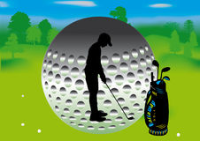 Golf Images stock