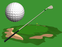 Golf. Stock Photography
