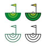 Golf 4 Foto de archivo libre de regalías