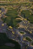 Golf aéreo Foto de archivo libre de regalías