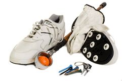 Golf Accesories stock images