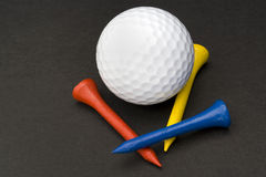 Golf accessories. Some kind of golf accessories Stock Images