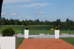 Golf Activefreizeit stockbild