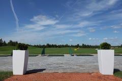 Golf Activefreizeit lizenzfreies stockbild