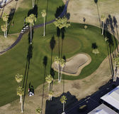 Golf aereo Immagine Stock