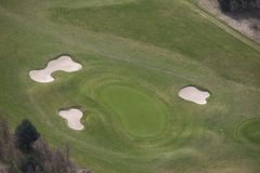 Golf aerial Stock Photography